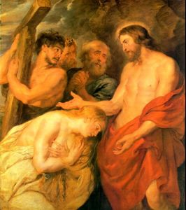 Rubens: Simon of Cyrene Carries the Cross