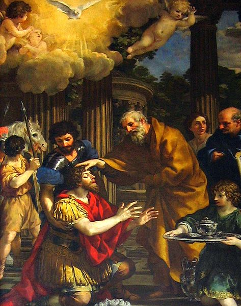 Pietro da Cortona, 1631: Ananias Restoring the Sight of St. Paul