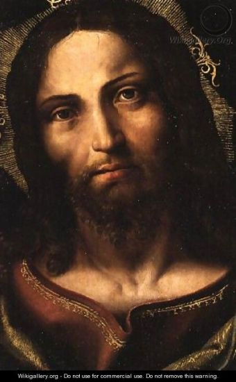 Yanez De la Almedina: Cristo Salvator Mundi, Christ the Savior of the World
