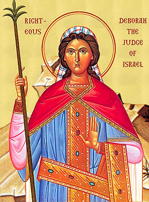The prophet Deborah, judge and chief executive of the Israelites, had the power to order men into battle.