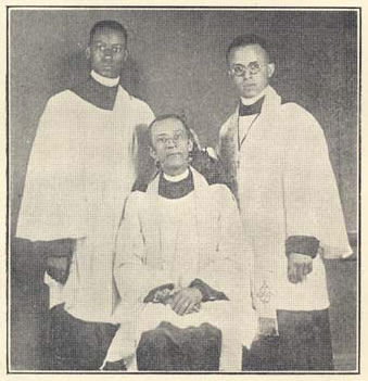 "George F. Bragg and sons: they were priests too. The early history of African Americans in The Episcopal Church would be nearly impossible to recover without the scholarship and historiographical work of George Freeman Bragg. He authored ""First Negro Priest on Southern Soil,"" ""Men of Maryland,"" ""History of the Afro-American Group of the Episcopal Church"" and ""Richard Allen and Absalom Jones."""