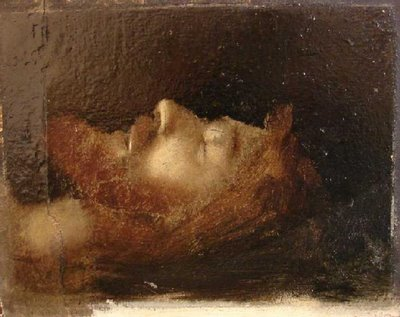Jean-Jacques Henner: Christ in the Tomb