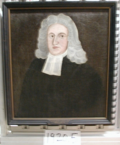 Thomas Chandler was a disciple of Samuel Johnson's and continued Cutler's advocacy for an American bishop. London finally named him Bishop of Nova Scotia, Canada, but by then he was dying and unable to accept - and a Bishop of Nova Scotia wouldn't have helped the new Episcopal Church in the United States. (Yale University Art Gallery)