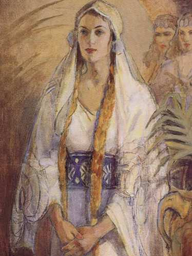 Queen Esther, by an unknown artist