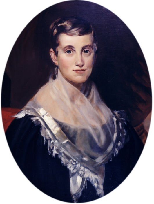 Ms. Crandall was a Quaker who opened a school for girls in Canterbury, Connecticut in 1831. Two years later she admitted a Black girl, which so outraged the town and state that she had to close it for fear of her students' safety. Sixty years later, after the U.S. Civil War, the state apologized, called her a Heroine and gave her a pension. (Prudence Crandall Museum)