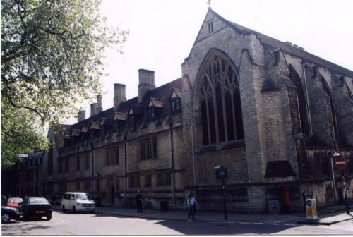 Most Christians have never heard of Edward Bouverie Pusey, but to Anglicans he's world famous, as the priest and Oxford don who restored Catholic liturgy and theology of the Eucharist to the Church of England and the Anglican Communion. How influential was he? We're looking at Pusey House in Oxford; to the right is Pusey Street. (D.J. Clayworth)