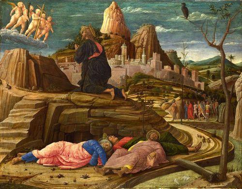 Andrea Mategna, c. 1460: Agony in the Garden
