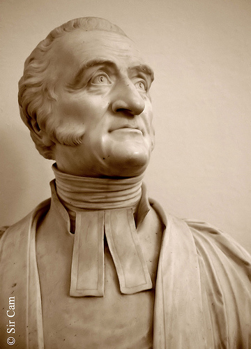 Charles Simeon, rector of Holy Trinity, Cambridge, England, became the leader of the Evangelical movement in the Church of England and helped found the Church Missionary Society, which sent some of its early workers to Australia, China, India, New Zealand and Tanzania. His sermons were unfailingly Biblical, simple and passionate – though at first his preaching was so unpopular he was reviled in the streets.