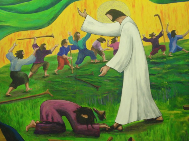 A despised Samaritan was the only one to show Jesus any gratitude. (Artist unknown)