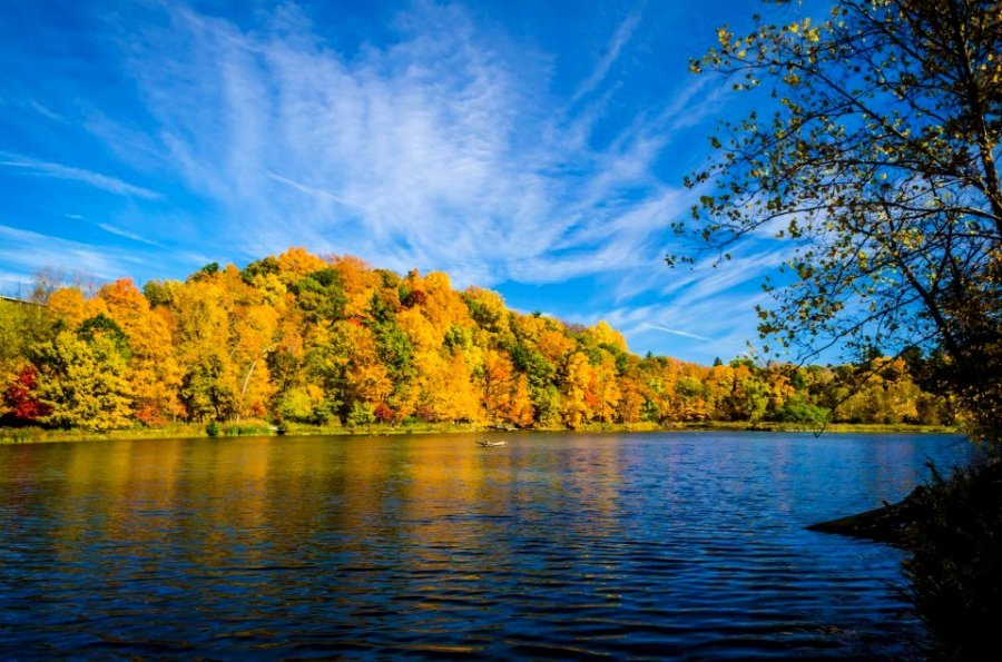 For Joy in God's Creation: Beebe Lake, Cornell University, Ithaca, New York. (anonymous)