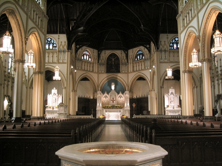 Holy Name of Jesus Roman Catholic Church, New York, just to start us off with beauty.