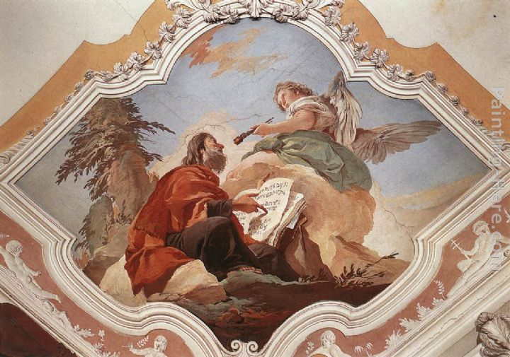 Giovanni Batista Tiepolo: The Prophet Isaiah, the Seraph and the Live Coal
