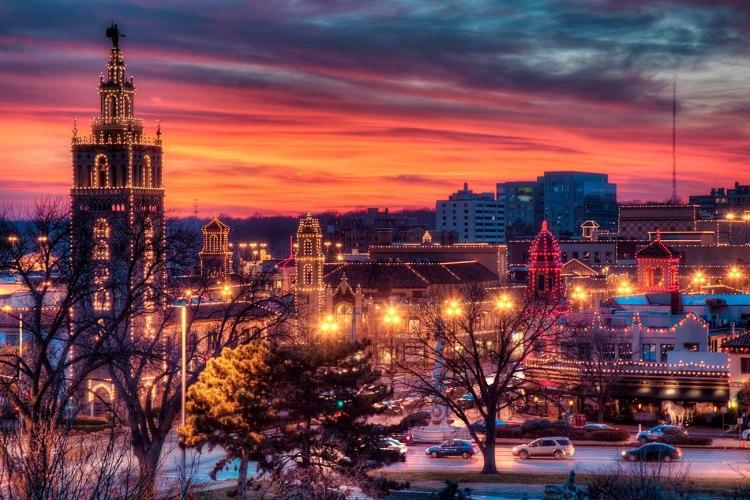 Advent in the city: Kansas City, Missouri on Advent 1, 2012. (Eric Bowers)