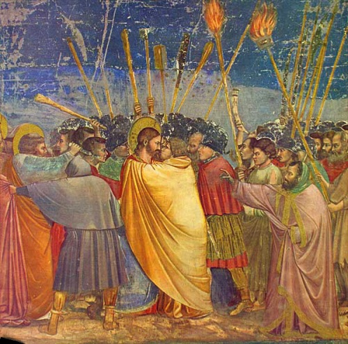 Station 2, Giotto di Bondone: Kiss of Judas