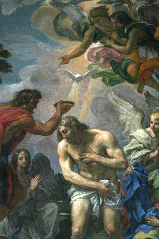 Altarpiece at the Baptistry Chapel of St. Peter's Basilica; after Maratta.
