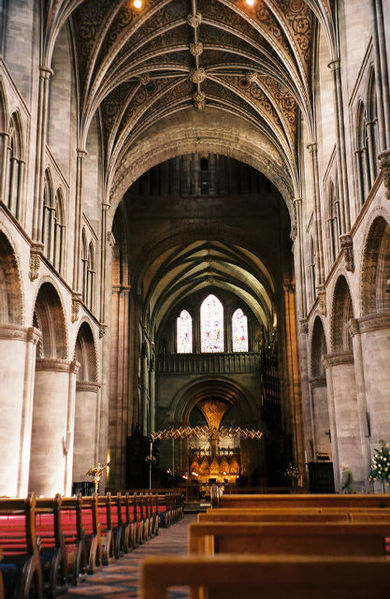 Hereford Cathedral, England, 2004