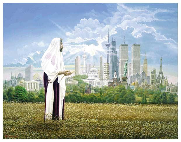 Lynn Morgan: Jesus in the Harvest Fields
