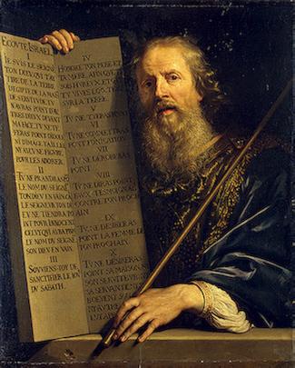 Philippe de Champaigne: Ten Commandments