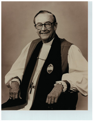 The Diocese of North Carolina, USA, is mourning its retired Suffragan Bishop Huntington Williams. I knew him as the kindly Rector of St. Peter's, Charlotte when I was a young evangelist.
