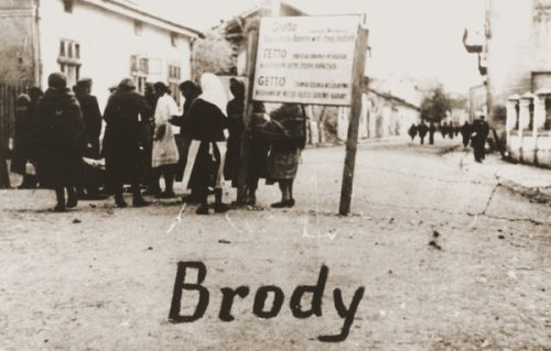 "Jewish ghetto in Brody, Eastern Galicia, 1942. A new study has found that the number of Nazi concentration camps, ghettos and slave labor facilities was far greater - 42,500 - than previously known, a story headlined by The New York Times as ""The Holocaust Just Got More Shocking."" See maps below. (U.S. Holocaust Memorial Museum/Eugenia Hochberg Lanceter Collection)"