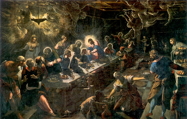 Tintoretto, 1594: Last Supper