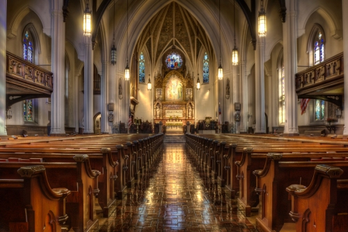 St. John's, Detroit, Michigan, USA. We've featured their choir videos many times.