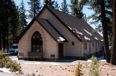 St. John's in the Wilderness, Glenbrook, Nevada, on the shore of Lake Tahoe.
