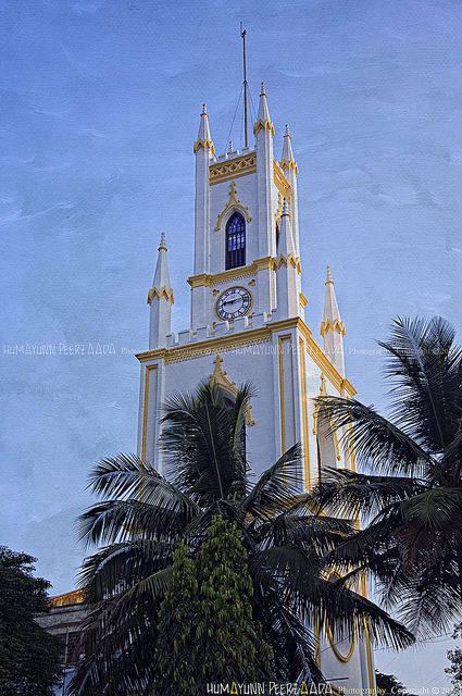 St. Thomas Cathedral, Mumbai. Syrian Christians of Malabar cherish a tradition that he brought the Gospel to India. (Humayunn Peerzaada)