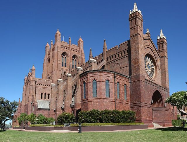 Christ Church Cathedral, Newcastle, New South Wales, Australia