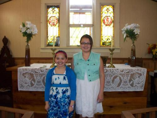 Confirmands at the Church of the Ascension, Blackfoot, South Dakota. We'd love to have pictures of your parish life; e-mail us at the address in the Blogroll. (The Rev. Margaret Watson)