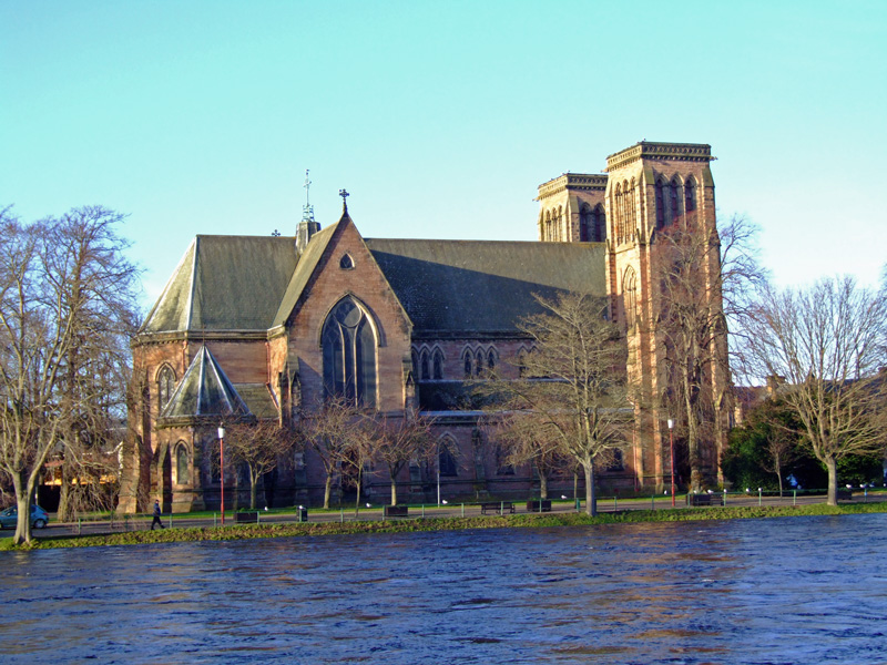 St. Andrew's Cathedral, Inverness, Scotland, in the Diocese of Moray