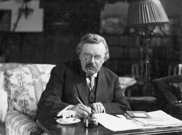 "G.K. Chesterton was an English novelist and literary critic whose spiritual interests grew from youthful occultism to what he termed ""orthodox"" Christianity, in an increasingly skeptical age after the Great War. (Crisis Magazine)"