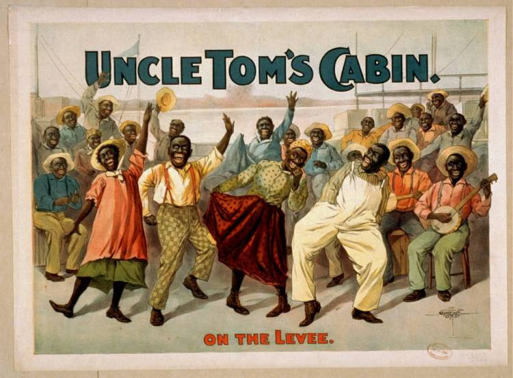 """Uncle Tom's Cabin"" has long provoked a lot of ambivalence among African-Americans. Many recognize its persuasive power in the fight against American slavery, but bristle at aspects of the book's portrayal of their lives as pathetic victims. Its enormous commercial success also led to widespread and unauthorized exploitation by white publishers and theatrical producers of portions of the story, taking it out of context, distorting it beyond recognition and using racist stereotypes to sell it as popular entertainment, turning a people tortured, oppressed and abused into happy-go-lucky nincompoops. To this day, calling someone an ""Uncle Tom"" is an insult; it means one who cooperates with oppression to obtain a cheap social advantage. (For a good antidote, see our final video.)"