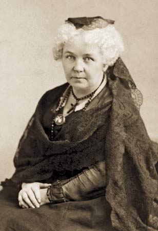 Elizabeth Cady Stanton, a Presbyterian who sometimes attended the Episcopal church with her friend Amelia Bloomer, was a principal organizer of the first Women's Rights Convention at Seneca Falls, New York in 1848; today is the 168th anniversary of that meeting. Later, when a new Bible translation was published by an all-male group of scholars, she convened a committee of women to write a commentary, which focused on passages used to oppress and discriminate against women.