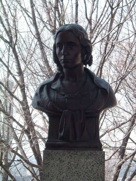 "Brenda Putnam: Harriet Beecher Stowe, the American author whose book ""Uncle Tom's Cabin"" opened eyes in its portrayal of Black slavery as shocking to all human sensibility. When he met her, President Abraham Lincoln said, ""So you're the little lady who started this (Civil) War,"" and she didn't deny it. For 40 years it was the world's bestselling book after the Bible."