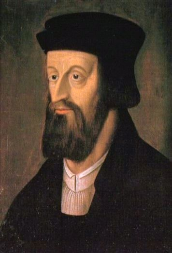 Jan Hus, a Czech priest and academic, was an important forerunner of Church reform who supported the teachings of John Wycliffe. When the Council of Constance put Hus to death for emphasizing the Bible and criticizing indulgences, they made a huge miscalculation. Some 90% of Bohemians rebelled against their rulers in memory of Hus, and when the Pope sent armies against them, they defeated them five times in 12 years. Nearly six centuries later in 1999, Pope John Paul II finally apologized; Hus might say that a church that can barely bring itself to admit an error undermines its own authority. (Wikipedia)