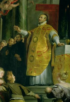 Peter Paul Rubens: Vision of St. Ignatius of Loyola, at the Kunsthistorisches Museum of Art History in Vienna.