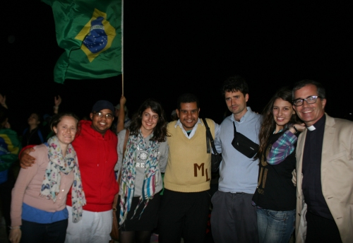 The Anglican World Youth Encounter was held in Rio about a month ago. (ENS)