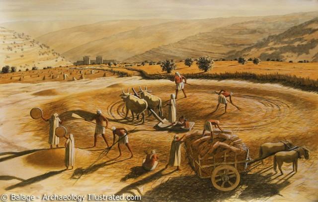 Araunah's threshing floor (Balage)