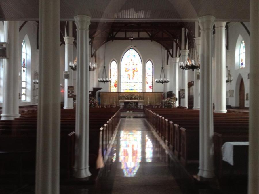 Bahamas Cathedral, Nassau, last week. (Mychal-Gregory LaCombe)