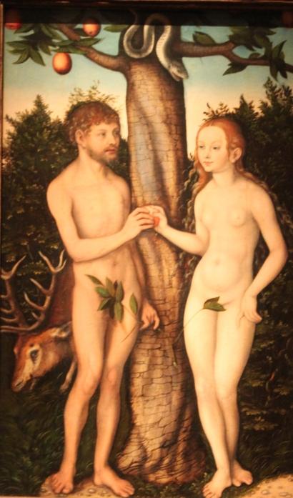 Lucas Cranach the Elder: Adam and Eve