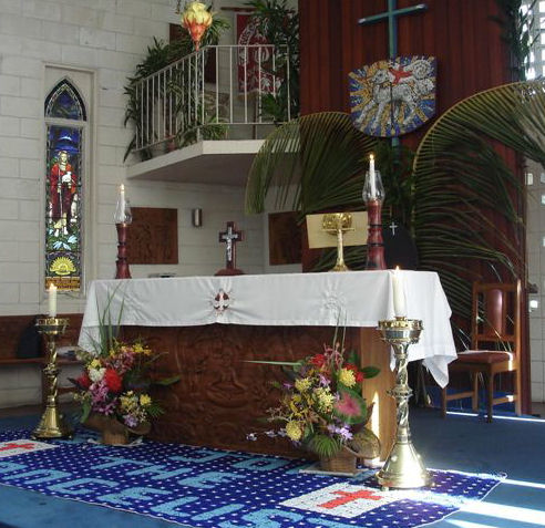 St. John's Cathedral, Port Moresby, PNG. One report says they have intercommunion with Lutherans and Roman Catholics - which would make them far more advanced than we are. (portmoresby.anglican.org)