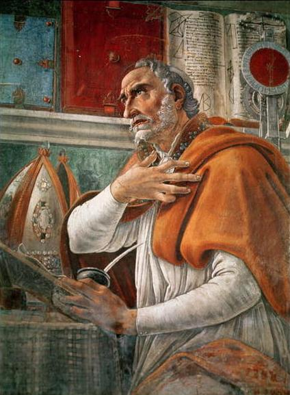 """Botticelli, 1480: St. Augustine in His Study. A theologian is a person who applies logic and scholarship to the study of God; Augustine defined theology as """"reasoning or discussion concerning the Deity."""" It is considered the """"queen of the sciences,"""" which surprises some people, but it's an important concept; a religious belief that contradicts the physical sciences (reality) is probably a misinterpretation, superstition or prejudice, since God is the ultimate Reality. Augustine, a trained philosopher, is considered the greatest Christian theologian, because he was the most rigorous, logical and wide-ranging thinker. Likewise, no one is ordained in an Anglican or Episcopal church without studying the science of God; faith is theology's prerequisite."""