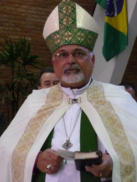Mauricio Andrade, Prime Bishop of Brazil, is also diocesan Bishop of Brasilia; today we're praying for the Diocese of Sao Paulo. (IEAB website)