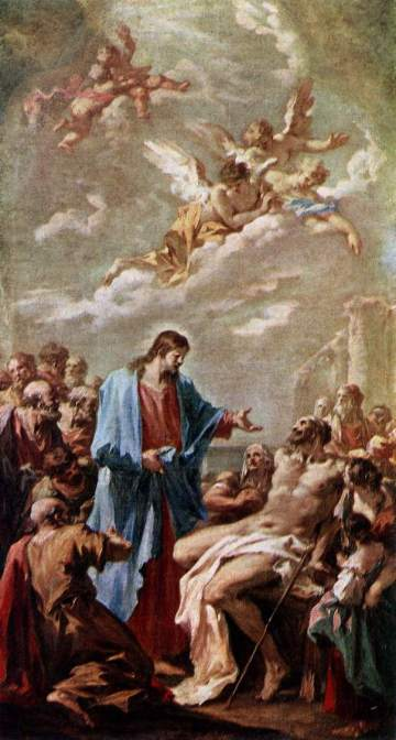 Giovanni Pellegrini: Christ Heals the Paralyzed Man
