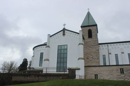 Gethsemani Abbey, Kentucky, the Cistercian monastery where Thomas Merton dedicated his life. (Letha Tomes Drury)
