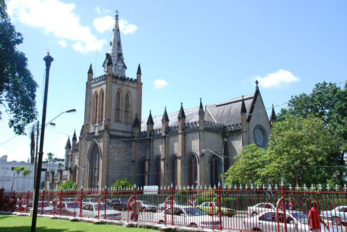 Holy Trinity Cathedral, Port of Spain, Trinidad and Tobago. (Vernelle A. Noel)