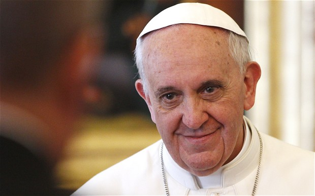 For the first time in history, a Pope has named himself for St. Francis. (telegraph.co.uk)