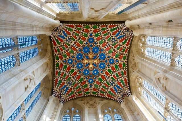 Henry Freeland, architect, 2010: Vaulted ceiling at St. Edmundsbury Cathedral