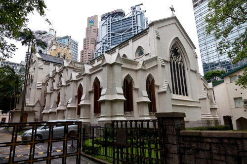 "St. John's Cathedral, Taipei, Taiwan. Theirs is a diocese of The Episcopal Church - U.S.-based, but not ""ECUSA."" The Episcopal Church has dioceses in 17 nations."